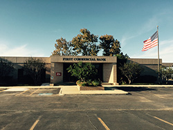 An image of our Jourdanton branch building.